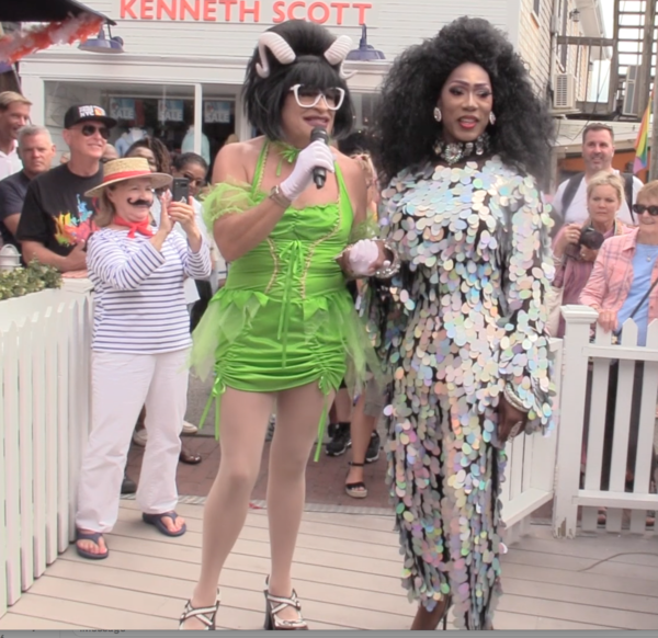 Miss Richfield 1981 hosts 15th Annual Drag Brunch at Patio in Provincetown
